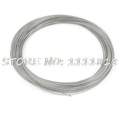 Máquina de molienda 7x7 1mm diámetro 54 M Cable de acero inoxidable largo