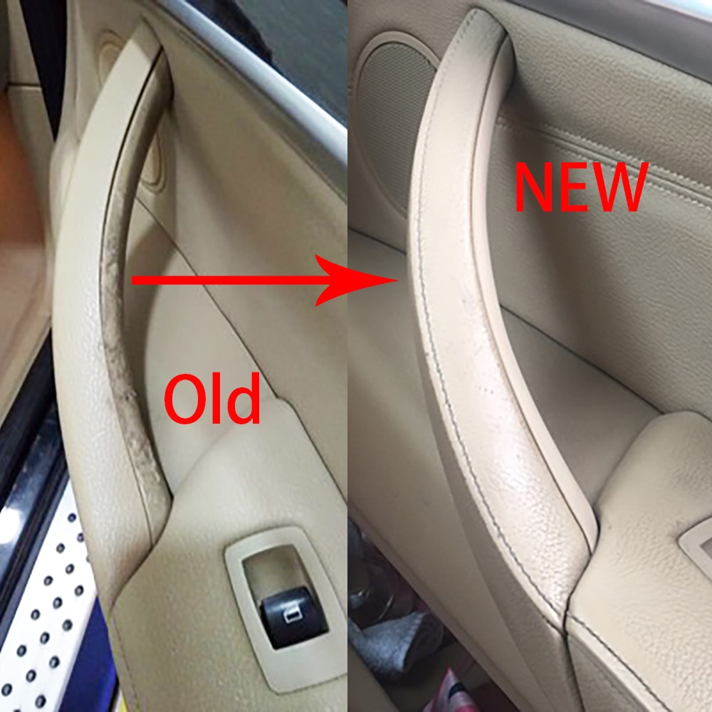Right rudder driving Inner Door Handle For BMW E70 E71 E72 X5 X6 Panel Pull Trim Cover 5141-6969 401 5141 6969 402 Black Beige