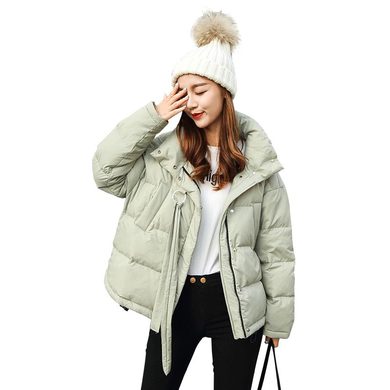 Yollmart 2018 New Winter Jacket Women Coat Fashion Female Down Parkas Casual Jackets High Street Parka Wadded