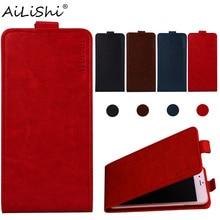 AiLiShi Case For Prestigio Muze B3 X5 LTE D3 K5 Wize Q3 G3 NK3 Grace Q5 M5 LTE PU Flip Leather Case Phone Cover Skin+Tracking