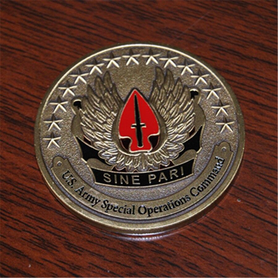 Envío Gratis 50 unids/lote, Operaciones Especiales del Ejército de EE. UU.