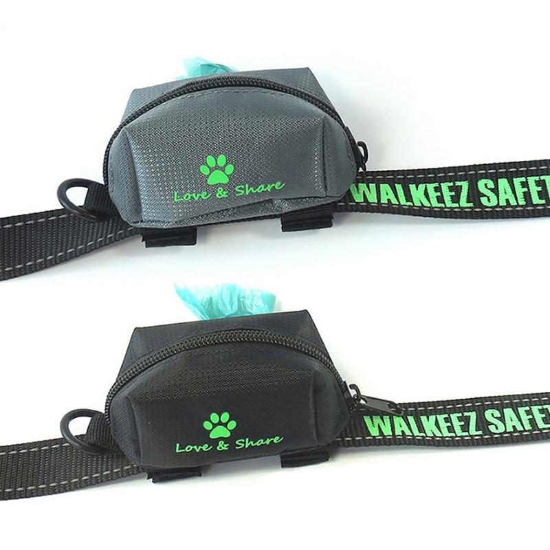 Dozzlor correa de perro resistente al agua, bolsa de Entrenamiento de mascotas, correa para caminar, bolsa para Chihuahua, bolsa de transporte para golosinas, bolsa para residuos