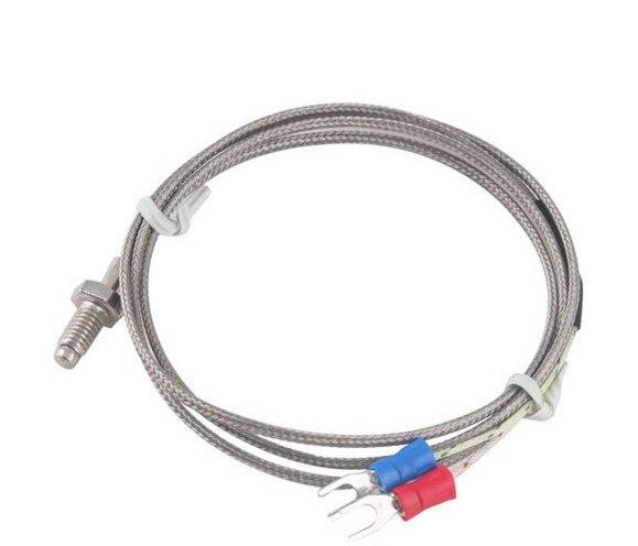 Датчик температуры с винтовым датчиком, 1 м/2 м/3 м K Тип управления термопарой