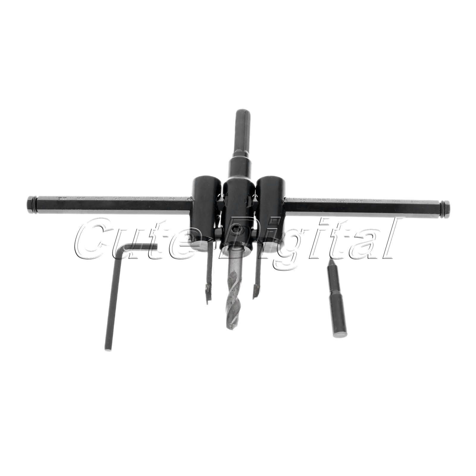 30mm-200mm Adjustable Metal Wood Circle Hole Saw Drill Bit Cutter Kit DIY Tool Herramientas Power Tools Cordless Drill Bit