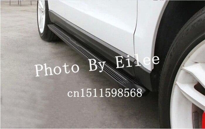Novo estilo kia sorento r 2009 2010 2011 2012 2013 2014 alumínio placa de corrida lado passo nerf barra