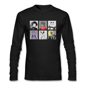Burton Pop Art T-shirt Men Autumn Top Quality Popular Art Tees Kawaii Personalized T Shirt Big Boy Uniform 100% Cotton O Neck