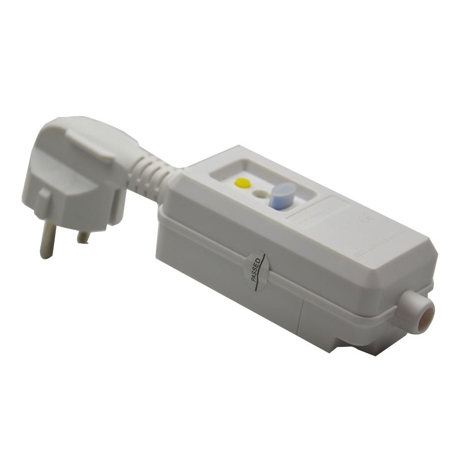 Горячая Распродажа оригинальный домашний выключатель 16A 220 в 240 в ЕС разъем с вырезом защита от утечки питания защитная розетка адаптер прот...