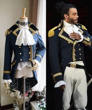 Colonial Hamilton Colonial militaire cosplay Costume Musical Hamilton Cosplay gothique Aristocrat militaire veste