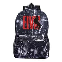 2019 le roi du Rock and Roll Elvis Presley sac à dos mode nouveau modèle voyage sac à dos étudiants garçons filles école Mochila