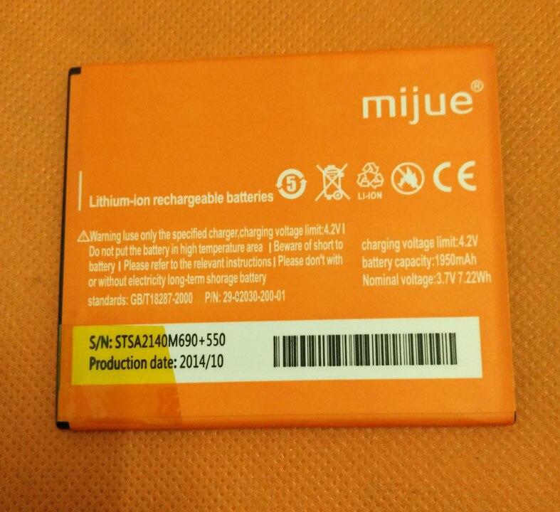 "Batería Original usada de 1950mAh para Mijue M690 + MTK6592 Octa Core 5,0 ""HD 1280x720"