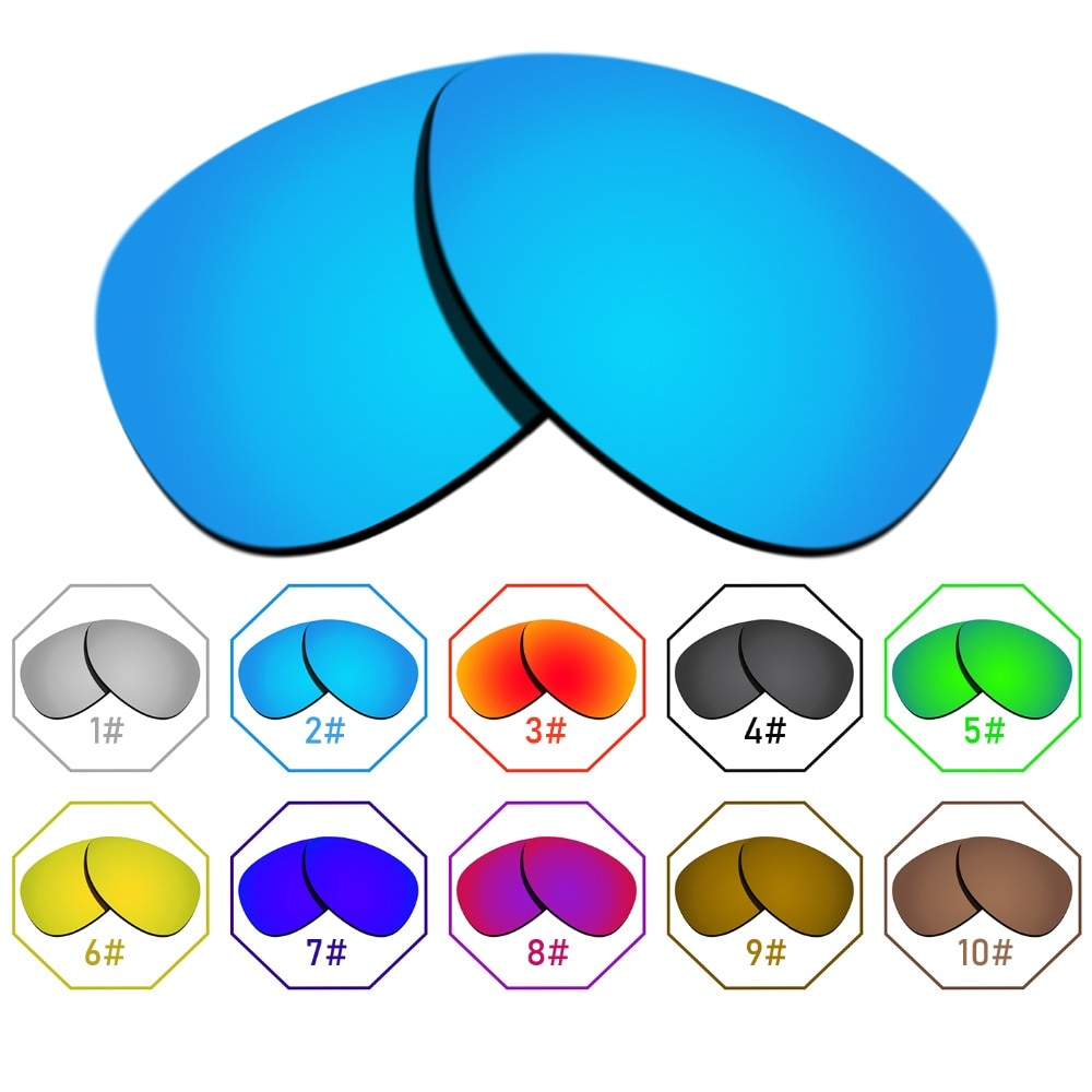 Polarized Replacement Lenses for Warden Frame - Many Colors Anti-reflective Anti-water Anti-scratch