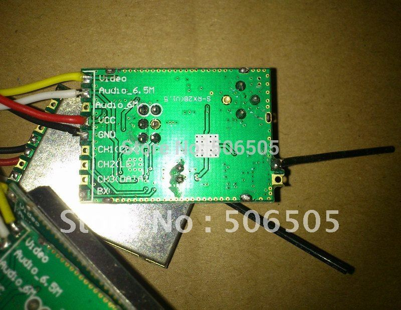 8CH 2.4Ghz Audio and Video wireless Receiver Module 2.4GHz wireless video receiver module enlarge
