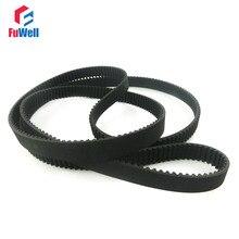 Courroie de chronométrage HTD3M   684/699/708/711/732/750/753/801/810/900/1068/1125/1245/1569/1800-3M largeur 10mm 3mm ceinture ceinture