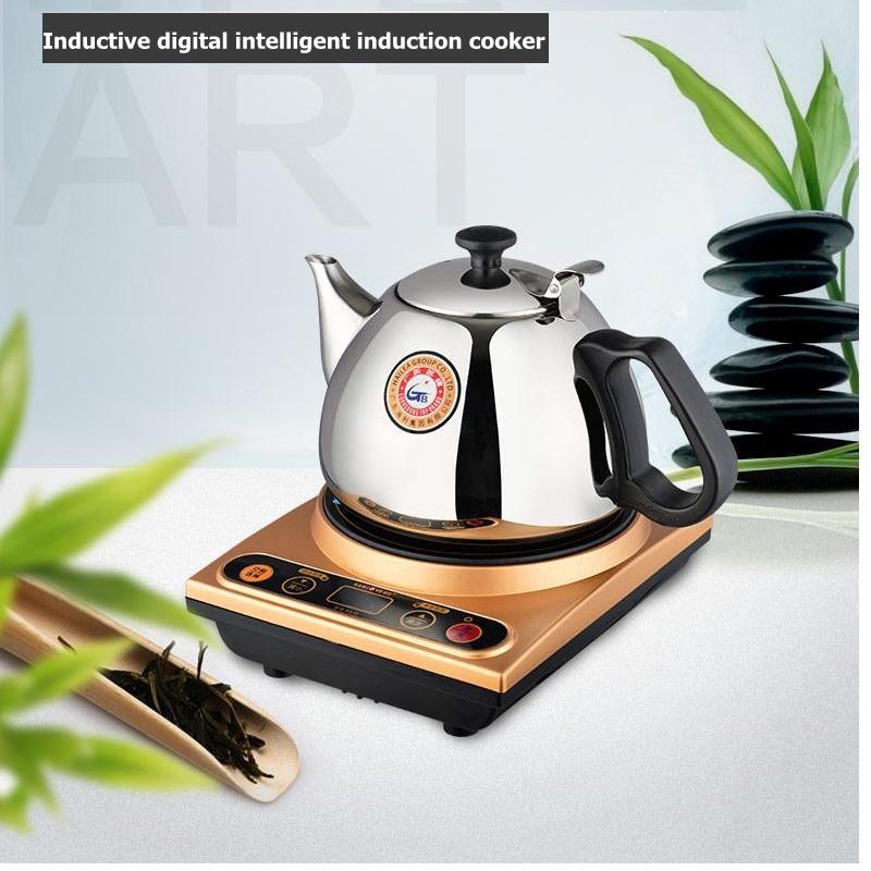 Eectromالمغناطيسي الشاي موقد إبريق الشاي موقد طقم شاي طباخ التعريفي الصغيرة غلاية