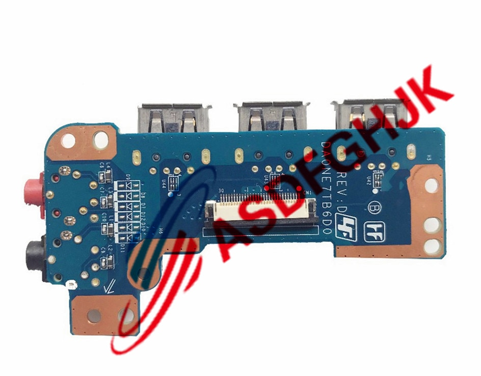 حقيقي DA0NE7TB6D0 لسوني Vaio VPCEE VPC-EE كمبيوتر محمول الصوت USB مجلس 100% TESED OK