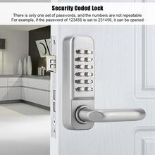 10 digitale Türschloss Passwort Türschlösser Smart Code Tastatur Passwort Keyless Türschloss Locker cerradura