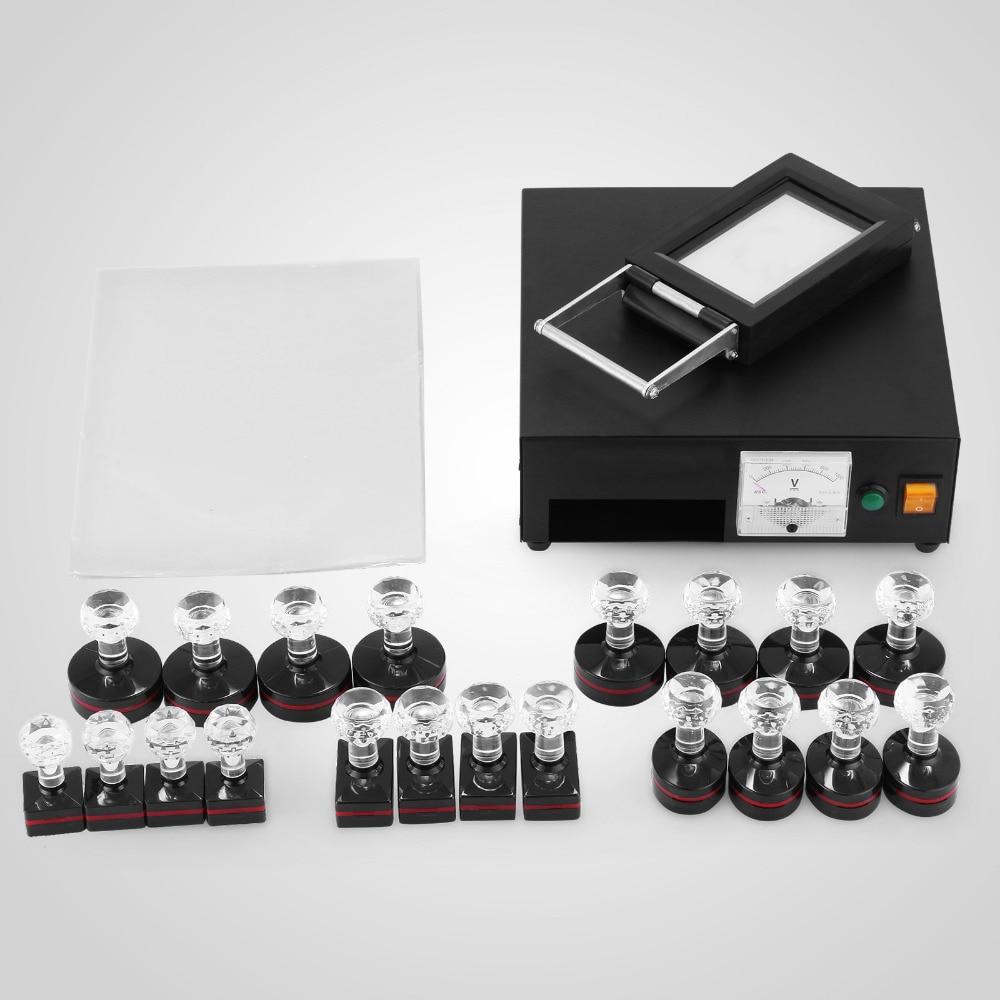 طقم آلة ختم حساس للضوء ، 220 فولت ، ملصق بصري رقمي