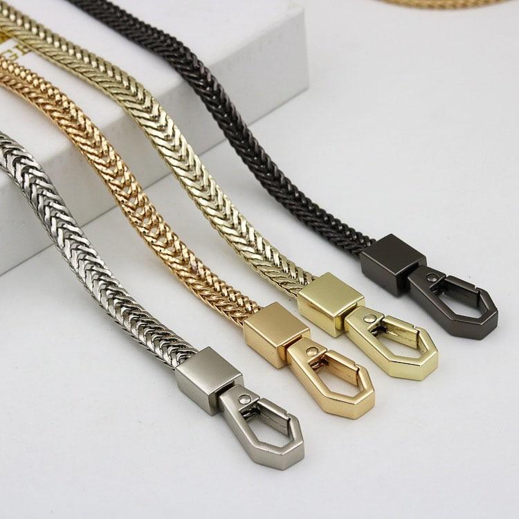 120cm Metal Purse Chain Strap Handle Handle Replacement For Handbag Shoulder Bag 4 Color  DIY Accessories