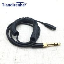 Nouveau câble de casque à ressort pour AKG K240 K702 Q701 K271 K267 K712 câble de remplacement du casque Audio 6.35/3.5mm mâle vers Mini XLR