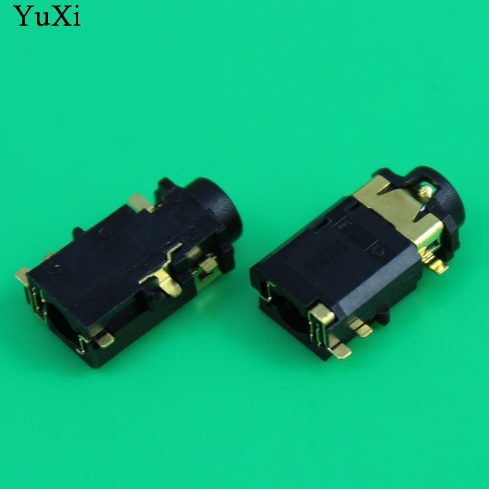 Toma para micrófono YuXi de 6 pines, Conector de Audio, puerto de auriculares de 3,5mm para Lenovo Dell, Etc.