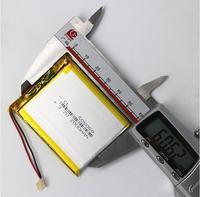 ZhiYuSun ניווט GPS 505060 2000 mah 3.7 V סוללת ליתיום פולימר סוללה VX580LE VX580R VX580T סוללה בקיבולת גדולה