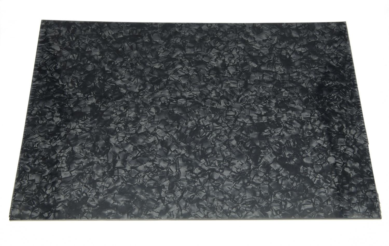 Perla Negra 3 capas en blanco golpeador rascador placa Material hoja 290x430 (mm)