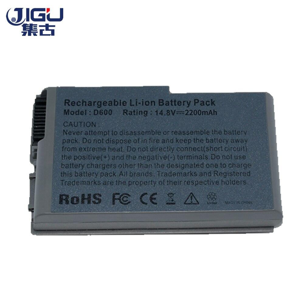 Jgu Silver 4 celdas batería de ordenador portátil para DELL Latitude D500 D505 D510 D520 D530 D600 D610 para Inspiron 510m 600m