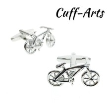 Cuffarts Novelty Bicycle Cufflinks 2018 High Quality Gift For Men Shirt Cufflinks Spinki Do Koszuli Bike Cufflinks C10123