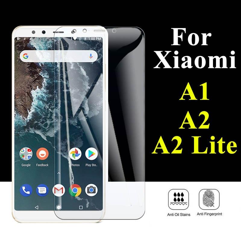 Protector de pantalla para Xiaomi Mi A2 Lite, Protector de pantalla con luz para Mi A1, Mia2, A, 1, 2, Mia1, Xiomi A2lite, Protector de pantalla con protección Xaomi
