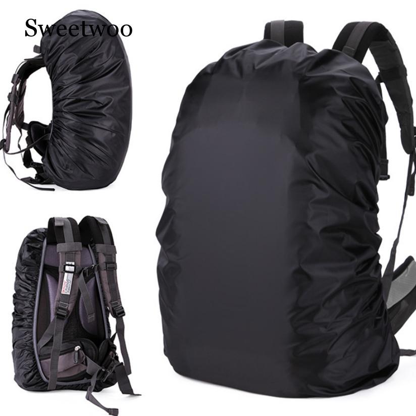 35-80L Adjustable Waterproof Dustproof Backpack Rain Cover Portable Ultralight Shoulder Protect Outdoor Tools Hiking