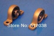 10 قطعة/الوحدة KP001 دقيقة الزنك وسادة مجموعة المسمار كتلة تحمل رمح حجم 12 ملليمتر شنت وحدة تحمل