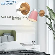 LED modern simple wall lamp Nordic creative bedroom bedside lamp reading lamp
