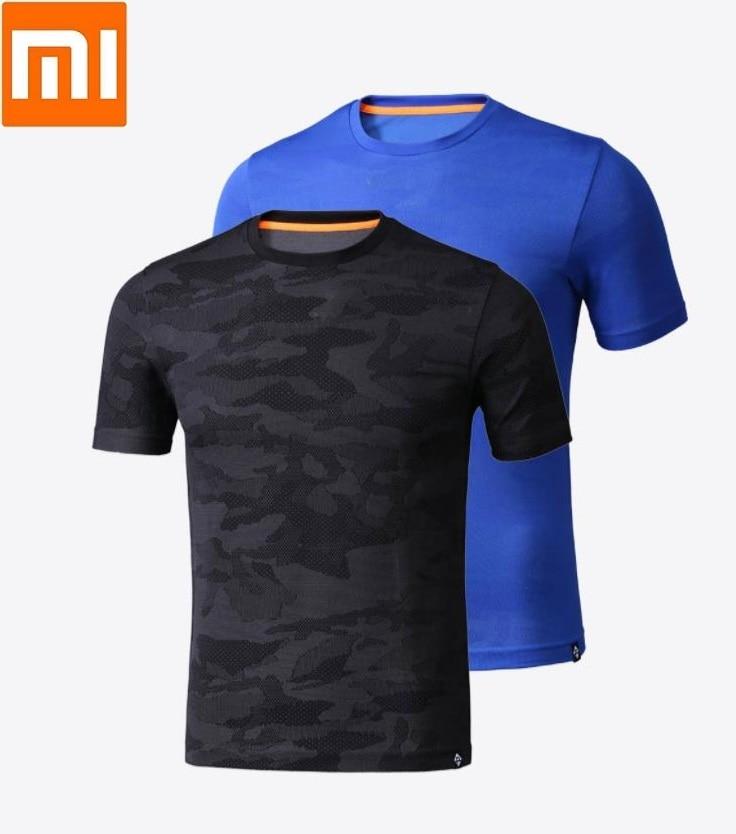 Xiaomi PROEASE fashion Man camouflage Short sleeve t-shirt Moisture absorption Quick drying Four-sided stretch Sweatshirt