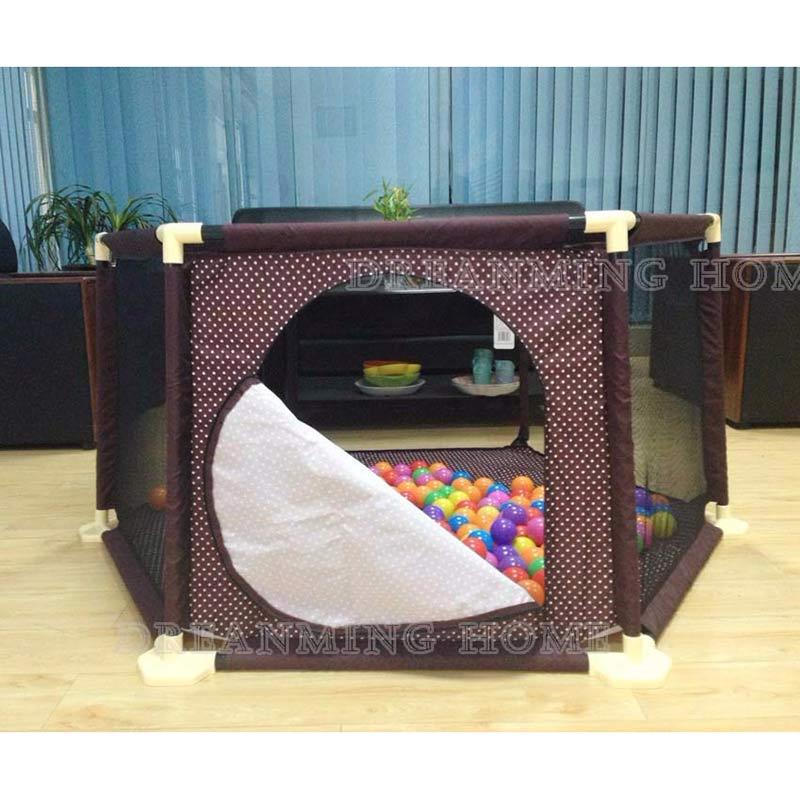 Bebé valla de seguridad de bebé cerca de los niños de plástico corralito de juego para cama barrera de seguridad barrera plegable valla de 3 años sólido