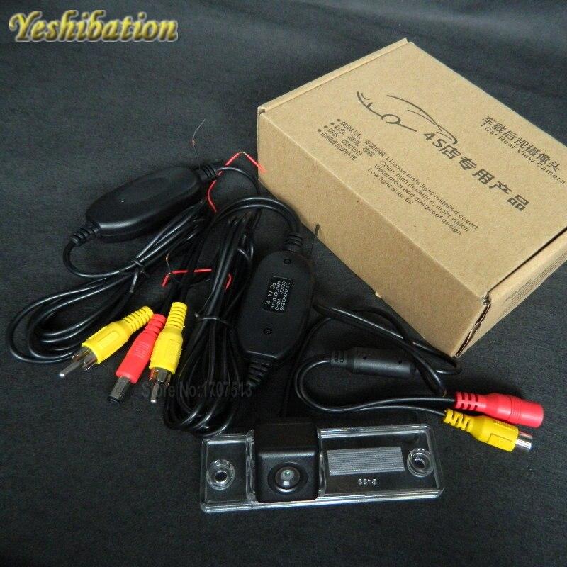 Inalámbrico de copia de seguridad para cámara aparcamiento Toyota Fortuner SW4 2005 ~ 2012 HD CCD de visión nocturna de 170 de ancho ángulo de cámara de marcha atrás