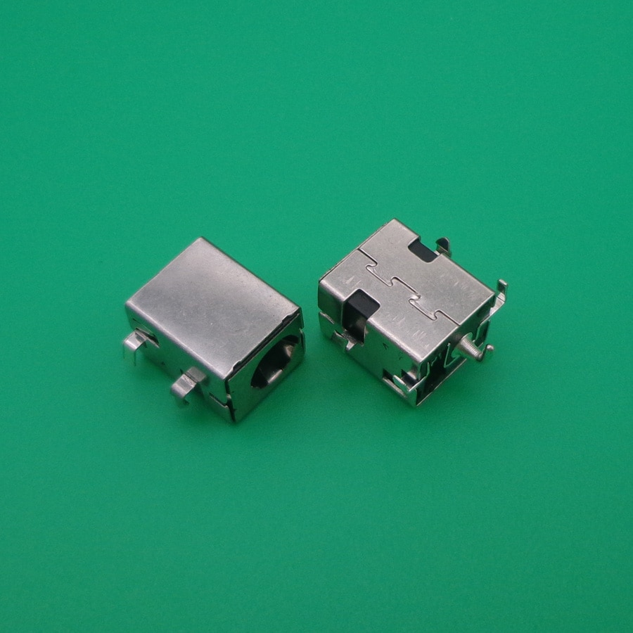 2,5mm Jack de alimentación DC pin de plata para Asus K52JR A52 A53 K52 k53 U52 X52 X53 X54 PJ033 A43 X43 A53 A53S U30 portátil