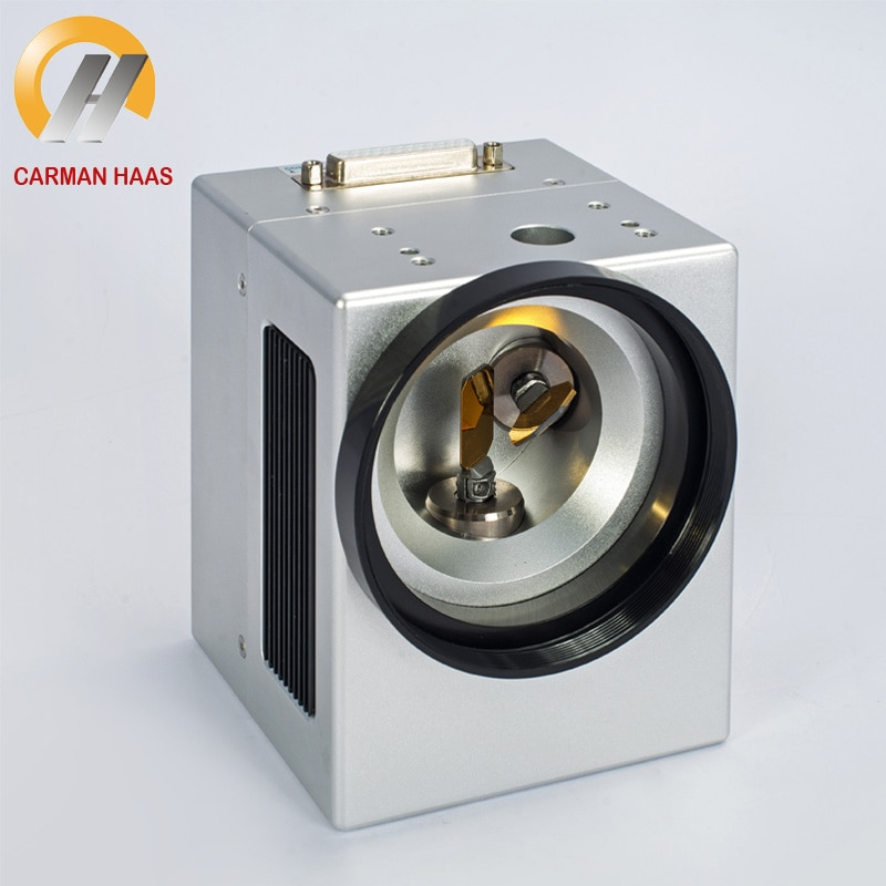 Carmanhaas 10.6um 1064nm CO2 Laser Scanning Galvo Head 10mm Galvanometer Scanner with Power Supply Set enlarge