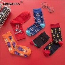 Han Edition Trend Streets Socks Cotton Breathable Women Men Hip Hop Funny Socks High Quality Animal Fashion Meias