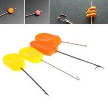 Carpe pêche épissage aiguille appâtage crochet forage plate-forme faisant outil accessoires nouveau