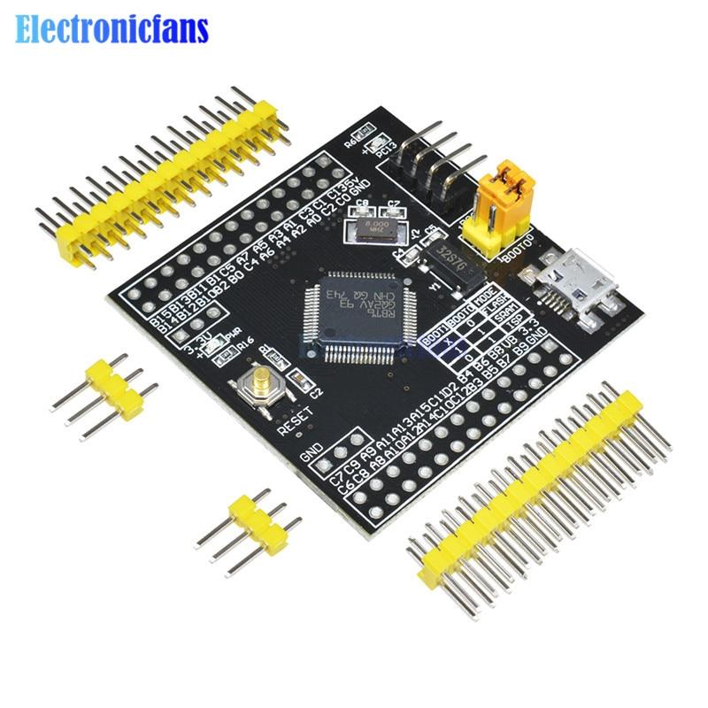 STM32F103R8T6 ARM STM32 Módulo de placa de desarrollo de sistema mínimo para Arduino tablero de sistema mínimo STM32F103C8T6 versión de actualización