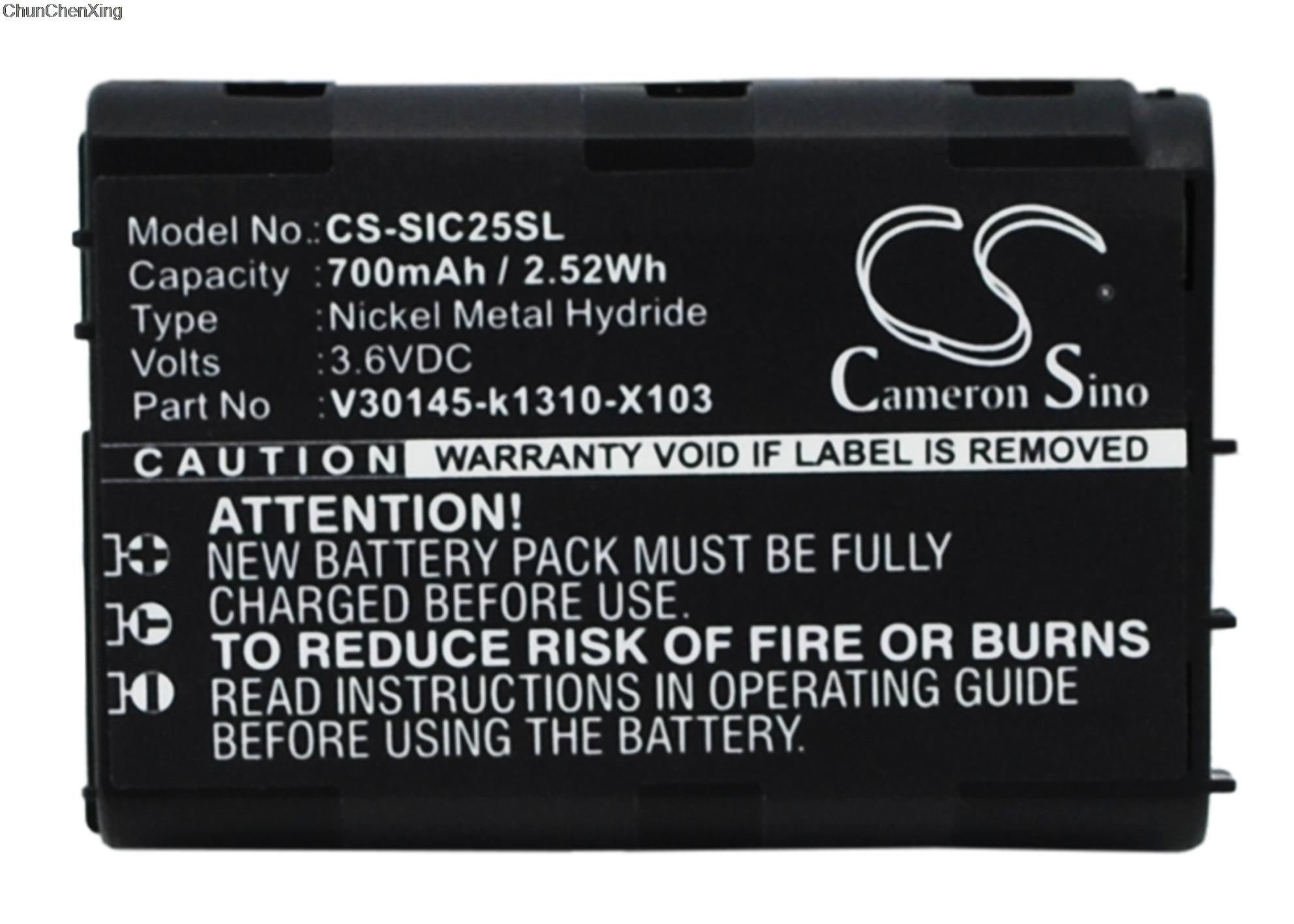 Cameron sino bateria V30145-k1310-X103 para siemens c25, c25 potência, c2588, c25e, c28