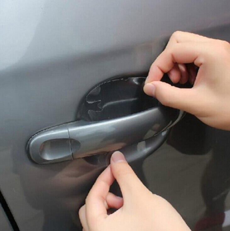2018 nuevo mango de la puerta de coche protector película para Peugeot RCZ, 206, 207, 208, 301, 307, 308, 406, 407, 408, 508, 2008, 3008, 4008, 5008