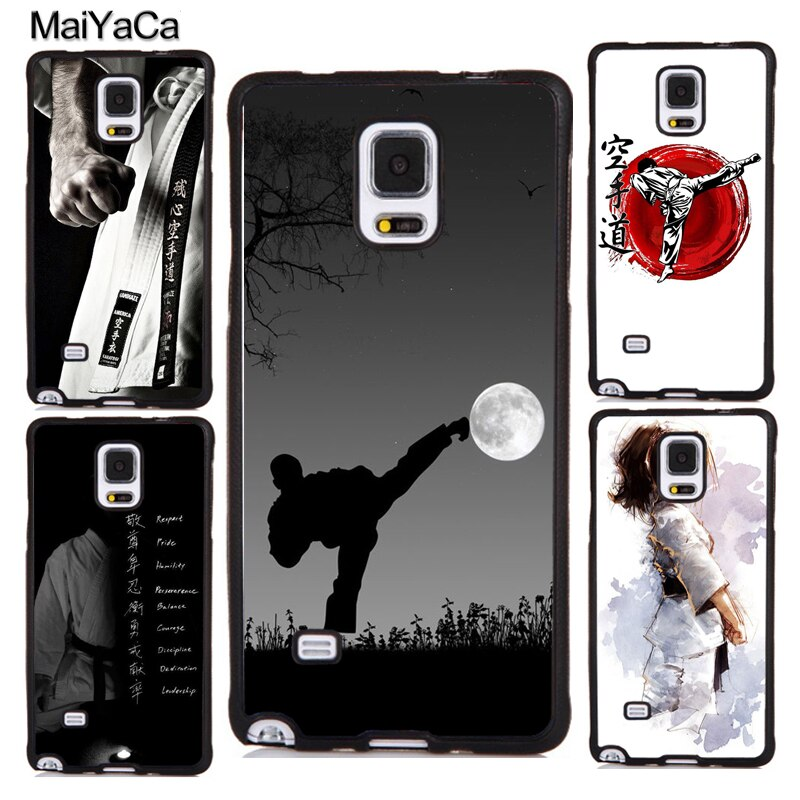 Funda de Karate y Taekwondo para Samsung Galaxy A50, A51, A71, A70, A10, A30S, A40, S8, S9, S10, S10e, Note 10 Plus, S20 Ultra