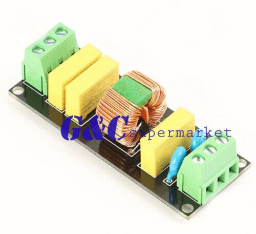 Emi 4a placa de filtro de energia soquete kits diy para pré-amplificador dac fone de ouvido
