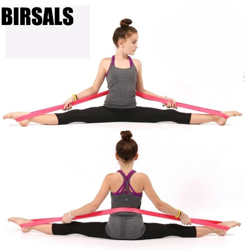 Эластичная балетная Растяжка для ступней, эластичная гимнастическая лента для спины и плеч, для йоги, пилатеса, для тренировок, балета, танц...