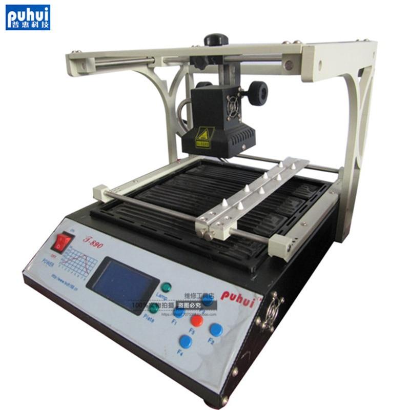 PUHUI T-890 T890 بغا مزدوجة الرقمية الأشعة تحت الحمراء بغا/IRDA/IFR/مصلحة الارصاد الجوية/SMT لحام الأساسية 1500 واط ثمانية أنواع من منحنى درجة الحرارة