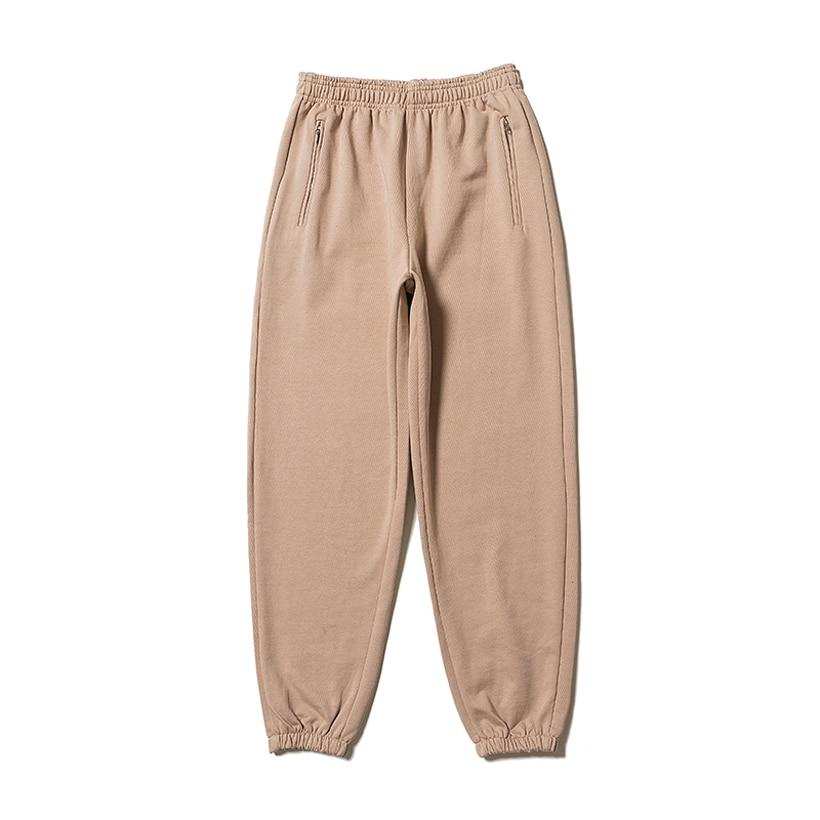 Kanye West temporada 6 Pantalones sólido alto calidad 100% de algodón Casual para hombre Pantalones caqui azul Seanson 6 Terry pantalones Kanye