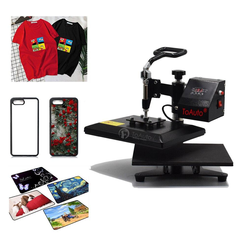 23*30 cm/9 * 12 máquina de prensa de calor 110 V/220 V oscilación Digital para DIY camiseta alfombrilla de ratón funda de teléfono