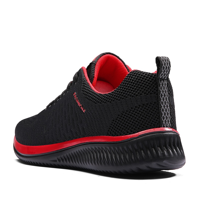 Купить с кэшбэком 2021 New Mesh Men Casual Shoes Lac-up Men Shoes Lightweight Comfortable Breathable Walking Sneakers Tenis Feminino Zapatos