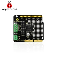 keyestudio L298P Shield DC Motor Driver Module 2A 2 Way H bridge for Arduino Compatible